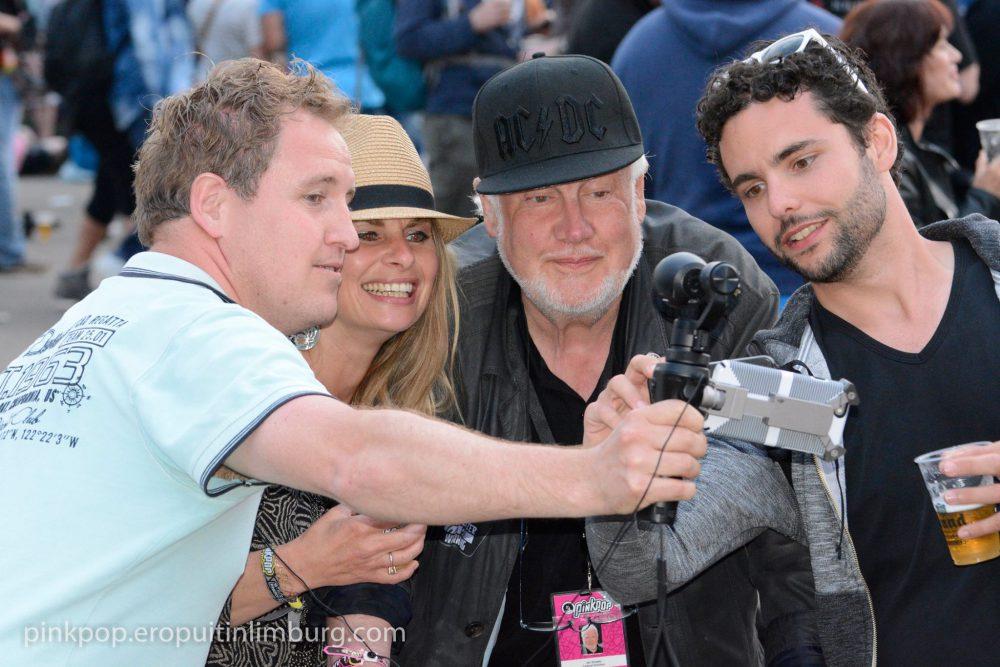 Emotionele Jan Smeets bedankt vrijwilligers Pinkpop