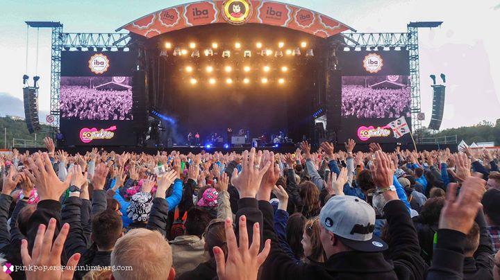 Ruim 80.000 bezoekers op jubileumeditie Pinkpop